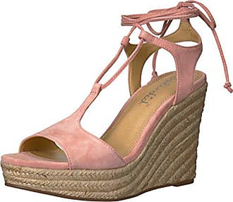 Splendid Womens Fianna Wedge Sandal, Blush, 6.5 Medium US