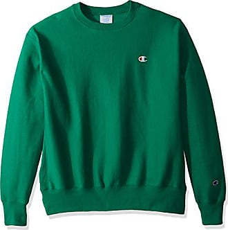 Champion LIFE Mens Reverse Weave Sweatshirt,Kelly Green/Left Chest C Logo,X LARGE