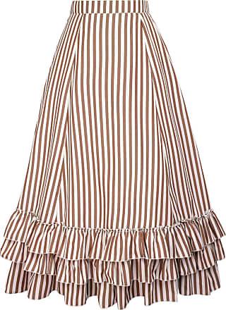 Belle Poque Fashion Steampunk Victorian Pirate Skirt Maxi Length Floral-3(354) XXX-Large