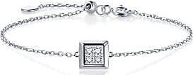 Emphasis Timeless18K White Gold Diamond Bracelet