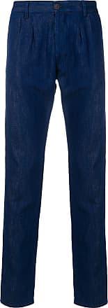 Fortela Calça chino slim fit - Azul