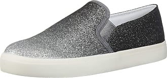 Jessica Simpson Womens Dinellia Sneaker, Silver/Pewter, 9.5