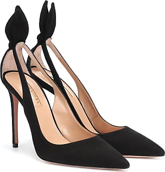 Aquazzura Pumps Bow Tie 105 in suede