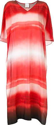 Ingie Paris gradient effect dress - Vermelho