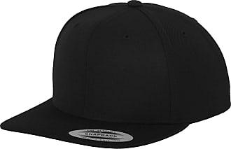Yupoong Mens The Classic Premium Snapback Cap (One Size) (Black)