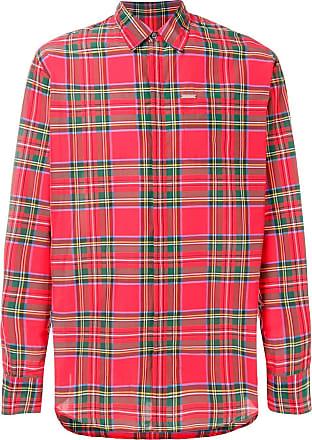 Dsquared2 Camisa com padronagem xadrez - Vermelho