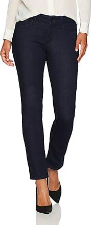 NYDJ Womens PDNM2034 Jeans, Rinse, 6 Petite