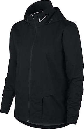 Nike Shield Fullzip Running Jacket Bekleidung Damen schwarz
