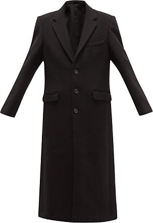 Wardrobe.NYC Wardrobe.nyc - Release 01 Single-breasted Wool-felt Overcoat - Womens - Black