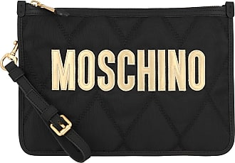 Moschino Cross Body Bags - Clutch Fantasy Print Black - black - Cross Body Bags for ladies