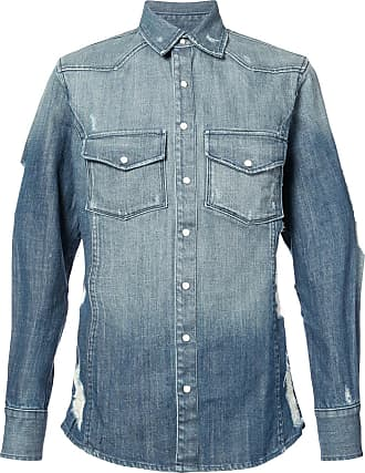 United Rivers Hawriver denim shirt - Azul