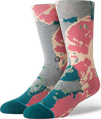 Stance MEIA MASCULINA THERMAL FLORAL - CINZA