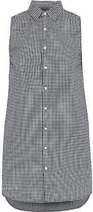 Onia Onia Woman Kaylee Gingham Cotton-poplin Mini Shirt Dress Black Size XS