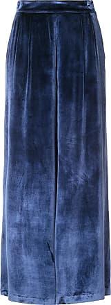 Fleur du Mal flared high-waisted trousers - Blue