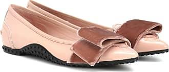 Tod's X Alessandro DellAcqua patent leather ballet flats