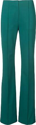 Diane Von Fürstenberg Calça flare - Verde
