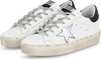 Golden Goose Plateau-Sneaker HI STAR - WEISS
