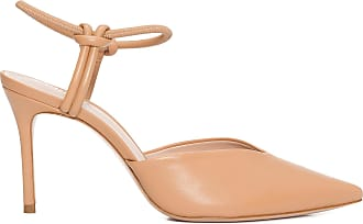Schutz Scarpin Knots Honey - Bege