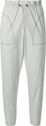 Fabiana Filippi cropped tapered trousers - Grey