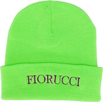 Fiorucci Gorro com logo bordado - Verde