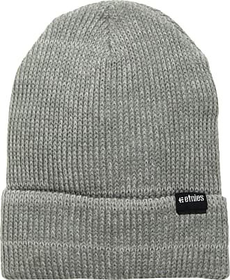 Etnies Mens Warehouse Beanie Hat, Grey/Heather, One Size
