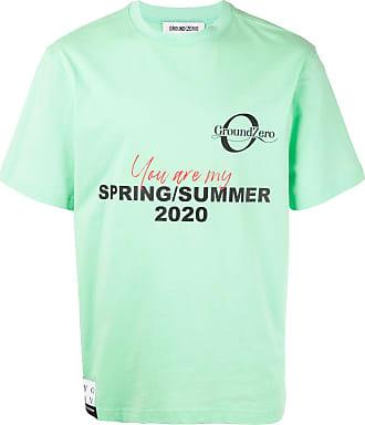 Ground-Zero Camiseta com estampa de logo - Verde