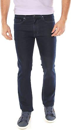 Aleatory Calça Jeans Aleatory Slim Básica Azul