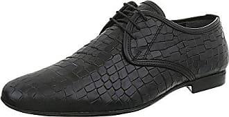 Ital-Design Herrenschuhe Business-Schuhe Budapester Stil Glattleder Schwarz  Gr. 41 9caf3dbf0c