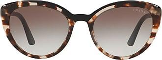 Prada Óculos de sol gatinho - Marrom