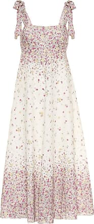 Zimmermann Carnaby floral linen midi dress
