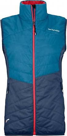 Ortovox Womens Swisswool Dufour Vest Gilet in lana Donna   blu