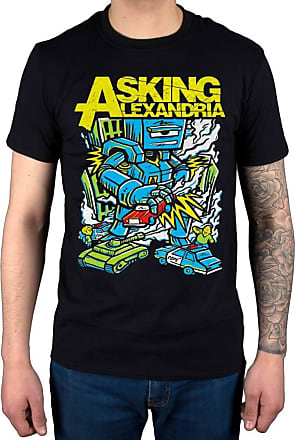 AWDIP Official Asking Alexandria Killer Robot T-Shirt Black