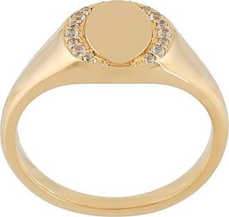 Astley Clarke Biography signet ring - Metallic