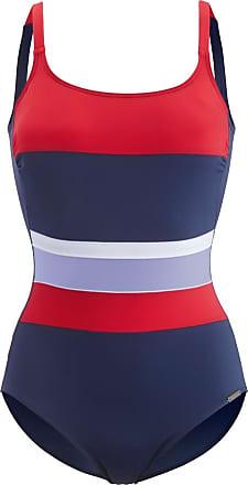 Maritim Bikini mit hinten verstellbaren Trägern blau//grün//gelb grafisch Damen