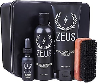 Zeus Deluxe Beard Grooming Kit for Men, Verbena Lime
