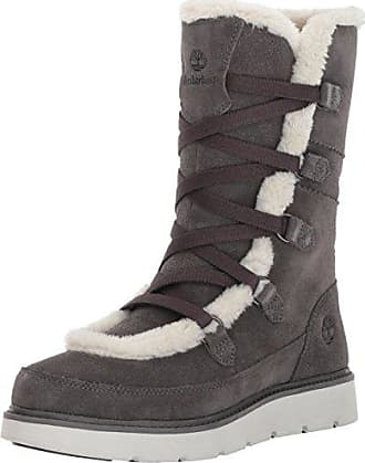 Timberland Womens Kenniston Muk Tall Winter Boot, Dark Grey, 6 C US