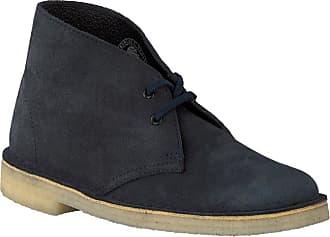 b0bf6a34d Clarks Blaue Clarks Ankle Boots DESERT BOOT DAMES