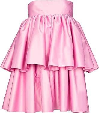 Rotate Vestido Carmina com amarração e babados - Rosa