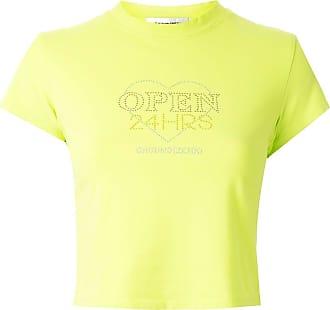 Ground-Zero Camiseta mangas curtas com aplicação de cristais - Verde