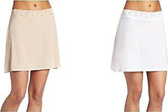 Vanity Fair Womens Body Foundation Half Slip 11072, Damask Neutral/Star White, Large (16 Length)