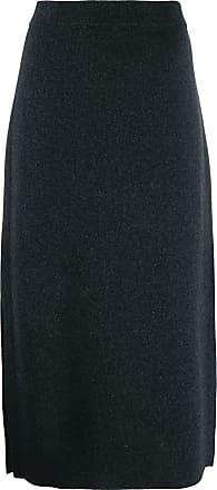 Pringle Of Scotland Camisa de tricô com fenda lateral - Cinza