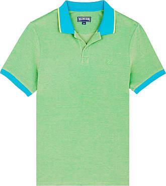 Vilebrequin Men Cotton Pique Polo Shirt Solid - Light Azure - XL