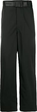 WWWM - What We Wear Matters Calça pantalona com cinto - Preto
