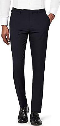 Rosso Pantaloni Formali Slim Fit Uomo Burgundy W34//L31 find Taglia Produttore: 34