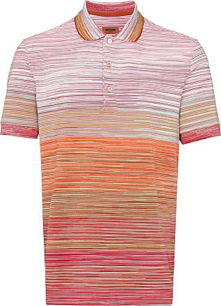 Missoni striped cotton polo shirt - S3038 Multicoloured