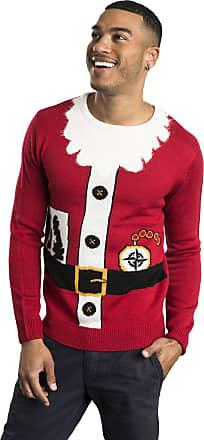 Mens Threadbare Big size Christmas Reindeer Beer Funny Jumper 2XL 3XL 4XL 5XL