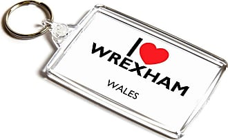 ILoveGifts KEYRING - I Love Wrexham - Wales
