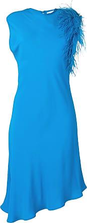 8pm asymmetric midi dress - Blue