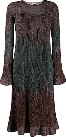 M Missoni Vestido de tricô metálico - Rosa