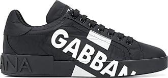 Dolce & Gabbana Tênis Portofino com logo - Preto